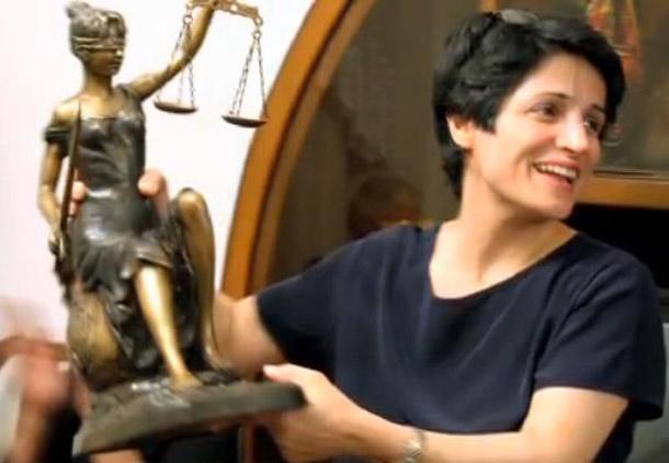 اعطای دکترای افتخاری حقوق دانشگاه یورک کانادا به نسرین ستوده
