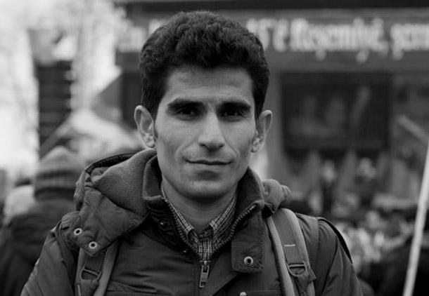 شهادتنامه ربین رحمانی، فعال حقوق کردها