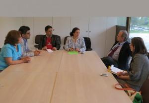 جمعی از ایرانیان در دیدار با نماینده حقوق بشر ژنو