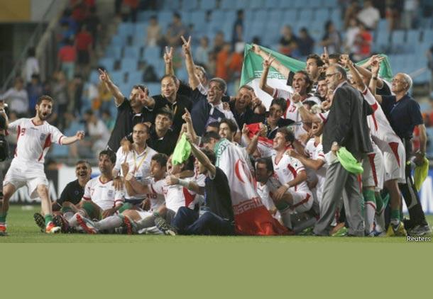تیم ملی فوتبال ایران راهی جام جهانی شد