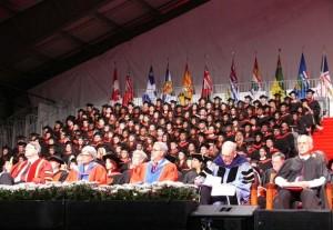 از راست: دکتر عبدالکریم لاهیجی ، دکتر مارتین سینگر، دکتر سعید رهنما، دکتر هایده مغیثی در مراسم اعطای دکترای افتخاری دانشگاه یورک به نسرین ستوده