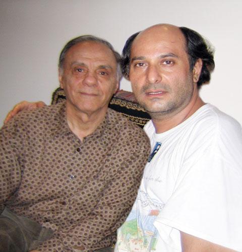 از راست: کامی مالکی - علیرضا قوامی