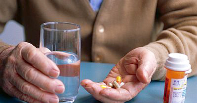 Taking-Pills-with-Water