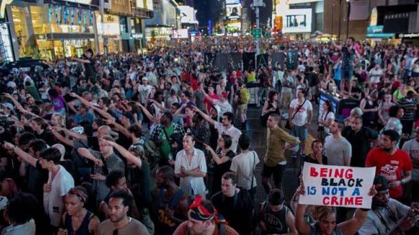 مردم نسبت به حکم تبرئه جرج زیمرمن اعتراض کردند