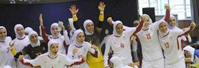 فوتسال زنان ایران به فینال آسیا رفت