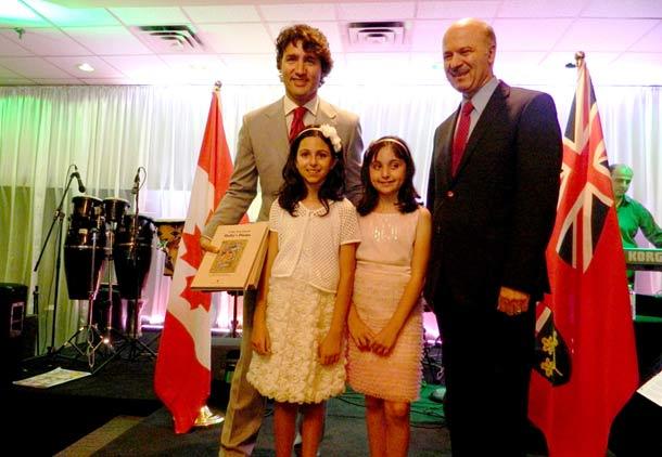 دیدار رهبر حزب لیبرال کانادا با اعضای جامعه ی ایرانی تورنتو