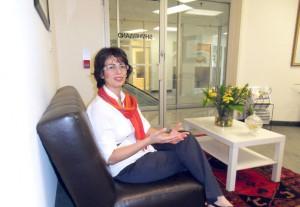 لیلی پورزند در دفتر شهروند