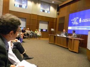 سخنرانی احمد شهید در مدرسه مانک دانشگاه تورنتو
