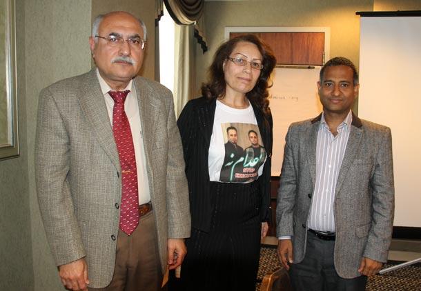 """دیدار نهاد """"مادران علیه اعدام"""" با احمد شهید"""