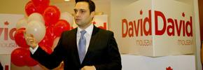 آغاز به کار کمپین انتخاباتی دیوید موسوی