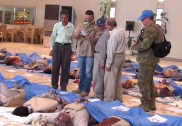 حمله به اردوگاه اشرف ده ها کشته و زخمی داد