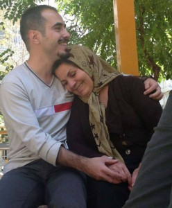 حسین رونقی ملکی و مادرش