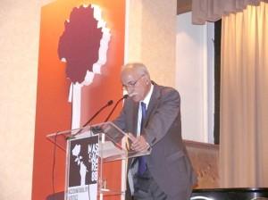 دکتر لاهیجی در مراسم یادمان بیست و پنجمین سال کشتار 67 در تورنتو