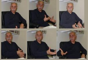 دکتر عبدالکریم لاهیجی در دفتر شهروند ـ تورنتو
