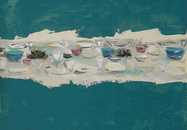 نمایشگاه آثار کیوان مهجور و افشین هراتی در آرتا گالری تورنتو