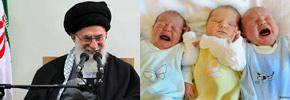آیتالله خامنهای:  ایران دستکم باید ۱۵۰ میلیون جمعیت داشته باشد