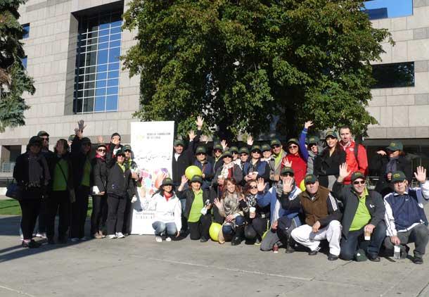 راهپیمایی خیریه بهنام انتاریو برای بیماران مبتلا به سرطان در ایران/ فرح طاهری