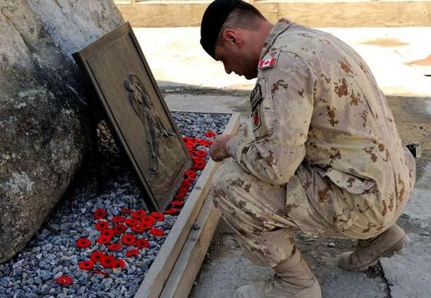 برگزاری روز یادبود کهنه سربازان  در سراسر کانادا