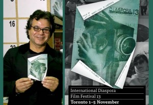 شهرام تابع محمدی بنیانگذار و مدیر جشنواره فیلم دیاسپورا