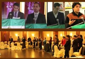 هومن رضوی، سیاوش صفوی، اشکان یزدچی، آرنوش ازرحیمی در مراسم یادبود ستار بهشتی در تورنتو
