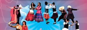 موسیقی  و رقص فولکلوریک و محلی ایران در شب پشتیبانی از شهروند