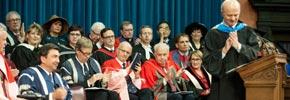 برگزاری مراسم معرفی رئیس جدید دانشگاه تورنتو با حضور دکتر رضا مریدی