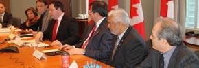 دیدار جیسون کنی با گروهی از نمایندگان جامعه ایرانی در تورنتو