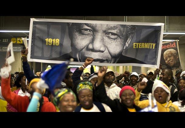 احترام جهانی به نلسون ماندلا