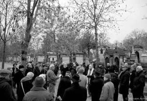سالگشت درگذشت غلامحسین ساعدی در پرلاشز