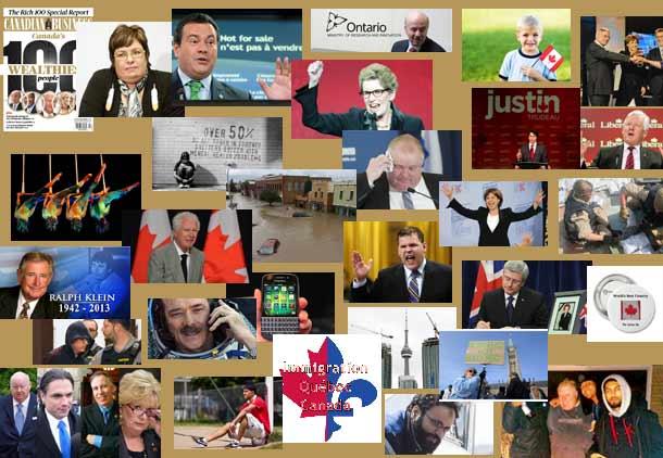 مروری بر گزیده مهمترین رویدادهای سال ۲۰۱۳ کانادا/ علی شریفیان