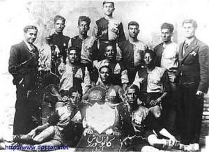 قدیمی ترین عکس از فوتبال ایران ـ آبادان سال 1315