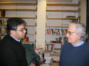 دکتر علی نیری با پرفسور نوام چامسکی