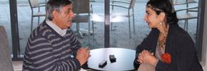 گفت وگو با مرامالمصری شاعر سوری/ عباس شکری