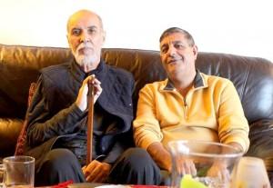 عباس شکری (راست) ـ منصور کوشان