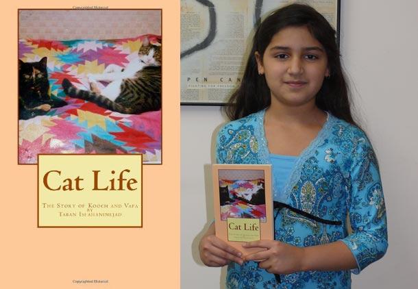 جوانترین نویسنده ی کانادا؛ تابان اصفهانی نژاد/ فرح طاهری