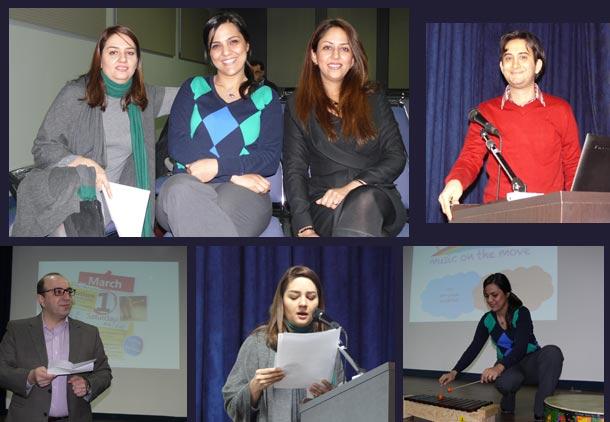 جلسه ی آگاهی رسانی به زبان فارسی در مورد اوتیسم