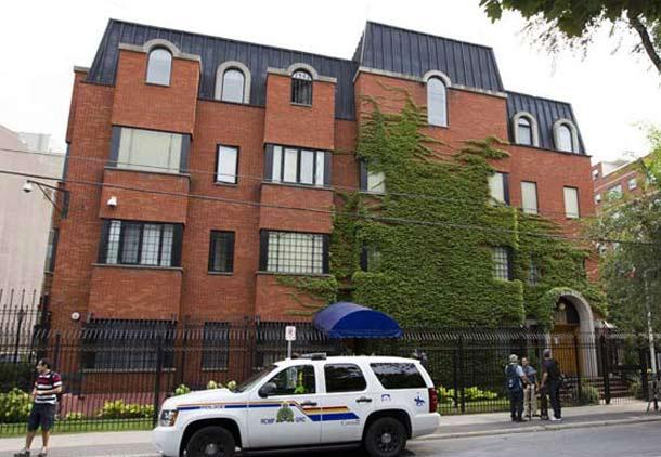 مصادره اموال سفارت ایران با حکم دیوان بلخ کانادا/اسد مذنبی