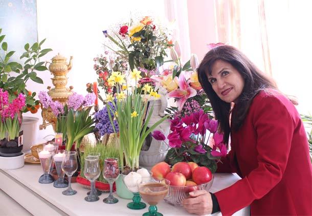 جشن نوروزی نوا، با آوای بهاری سروش ایزدی/فرح طاهری