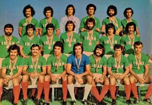 تیم ملی ایران فاتح بازیهای آسیایی 1974 تهران