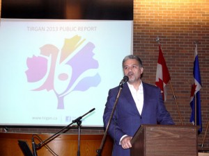 مهرداد آرین نژاد رئیس هیئ مدیره جشنواره تیرگان