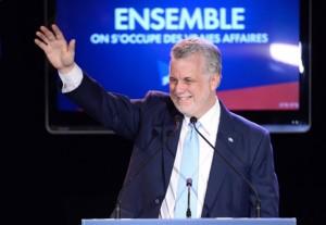 فیلیپ کویارد رهبر حزب لیبرال