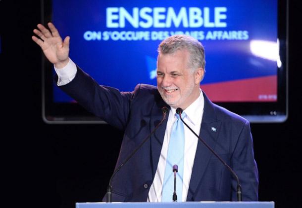 پیروزی قاطع لیبرال ها در کبک