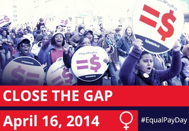 روز مزد برابر بین زن و مرد در انتاریو