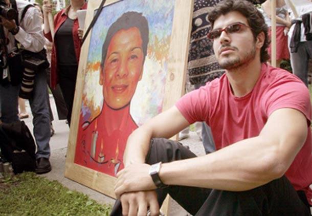 نماینده مرکز اسناد حقوق بشر ایران در دادگاه پرونده قتل زهرا کاظمی