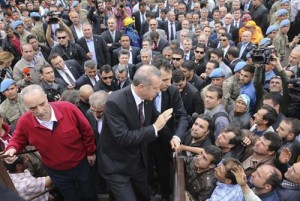 اردوغان به اعتراضات گوش نداد