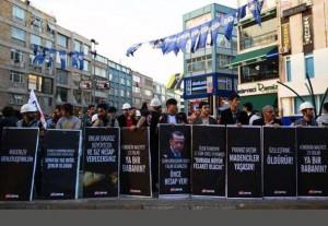 تظاهرات ده ها هزار نفری در استانبول در اعتراض به سیاست های دولت در مورد حادثه معدن صوما