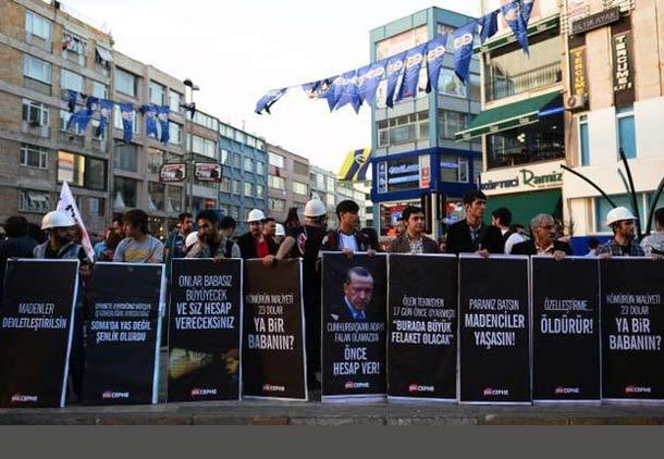 """ترکیه:  انفجار در معادن ذغال سنگ """"صوما""""/ علی قره جه لو"""