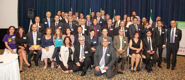 اعضای شورای ملی ایران در همایش