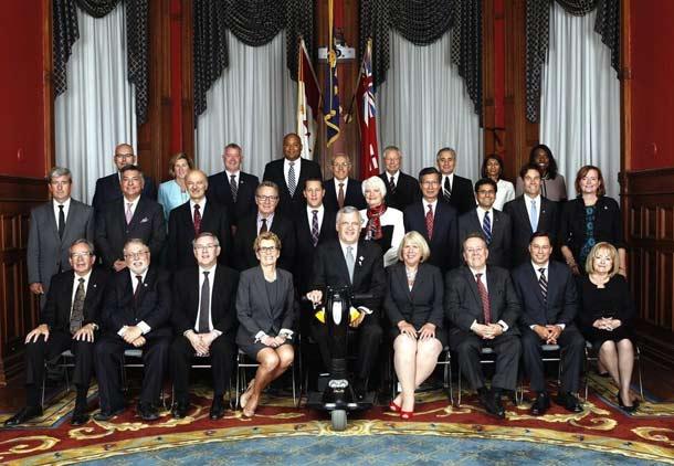 کاتلین وین کابینه ی خود را معرفی کرد
