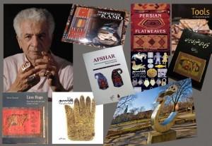 پرویز تناولی، کتاب ها و مجسمه هایش